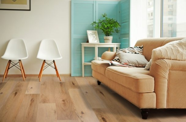 What is vinyl flooring and how is it made?