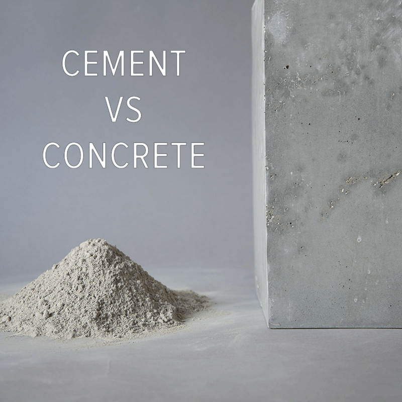 Distinction Between Cement Flooring as well as Concrete Flooring