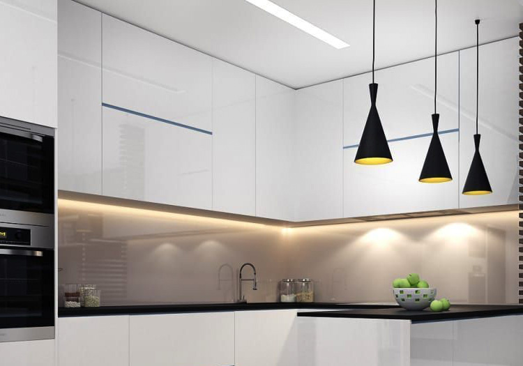 Cove Lighting in the Kitchen